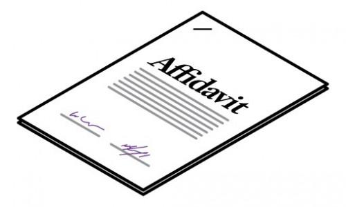 business record affidavit